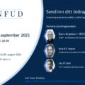 Oppdatert informasjonsplakat for webinaret 15. september